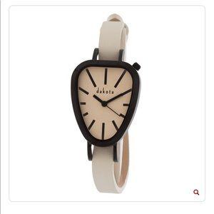 Dakota genuine leather wrap watch
